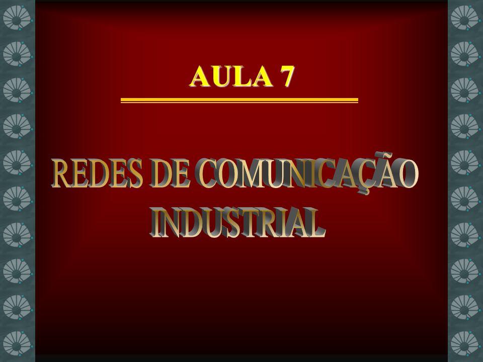 AULA 7 REDES DE COMUNICAÇÃO INDUSTRIAL
