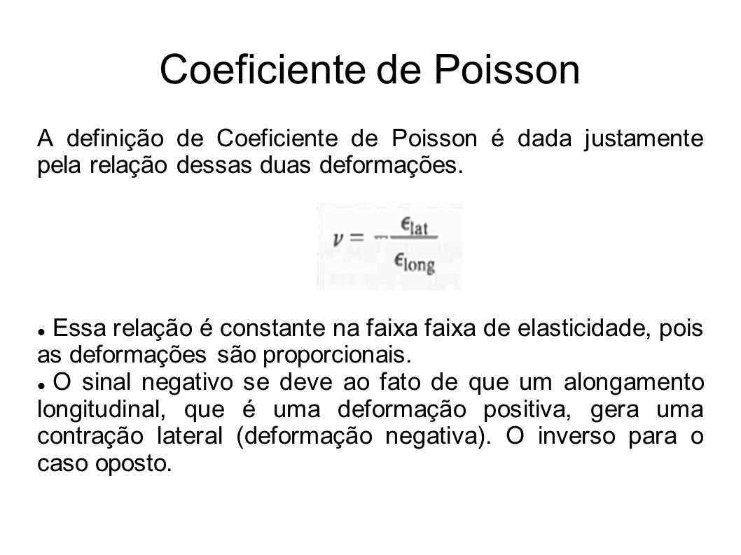 Coeficiente de Poisson