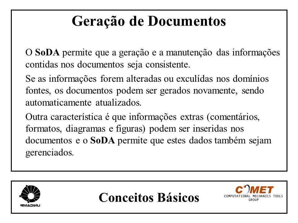 Geração de Documentos Conceitos Básicos