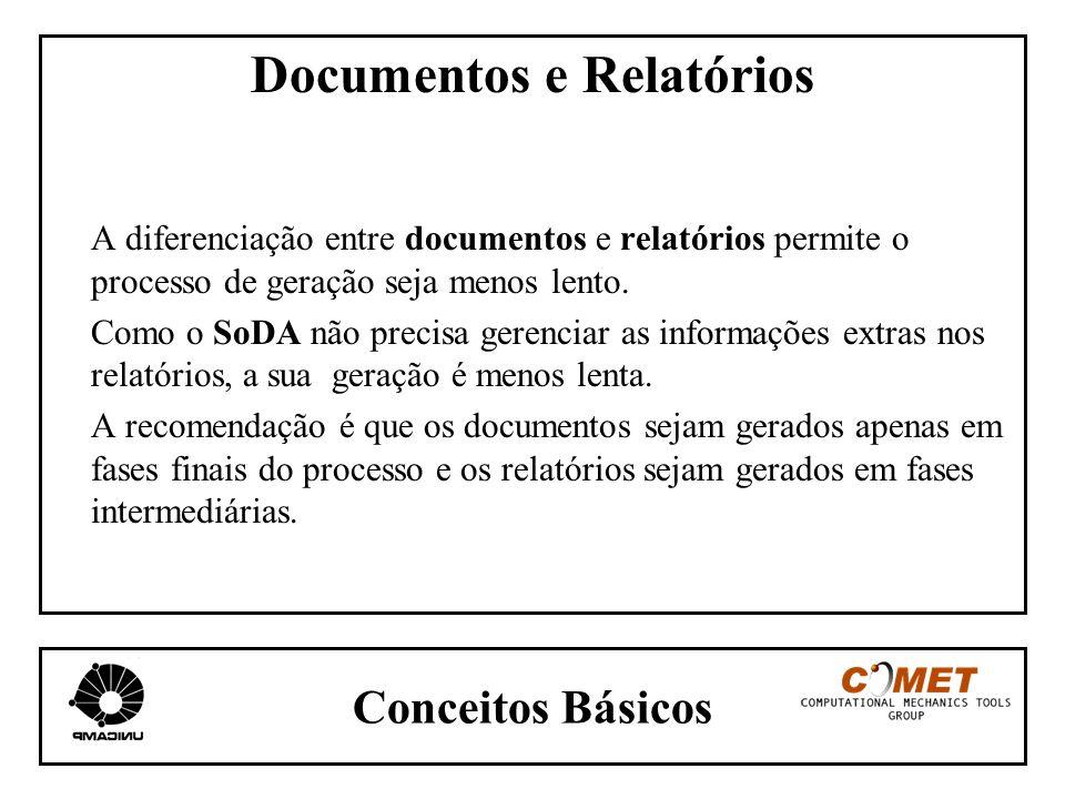 Documentos e Relatórios