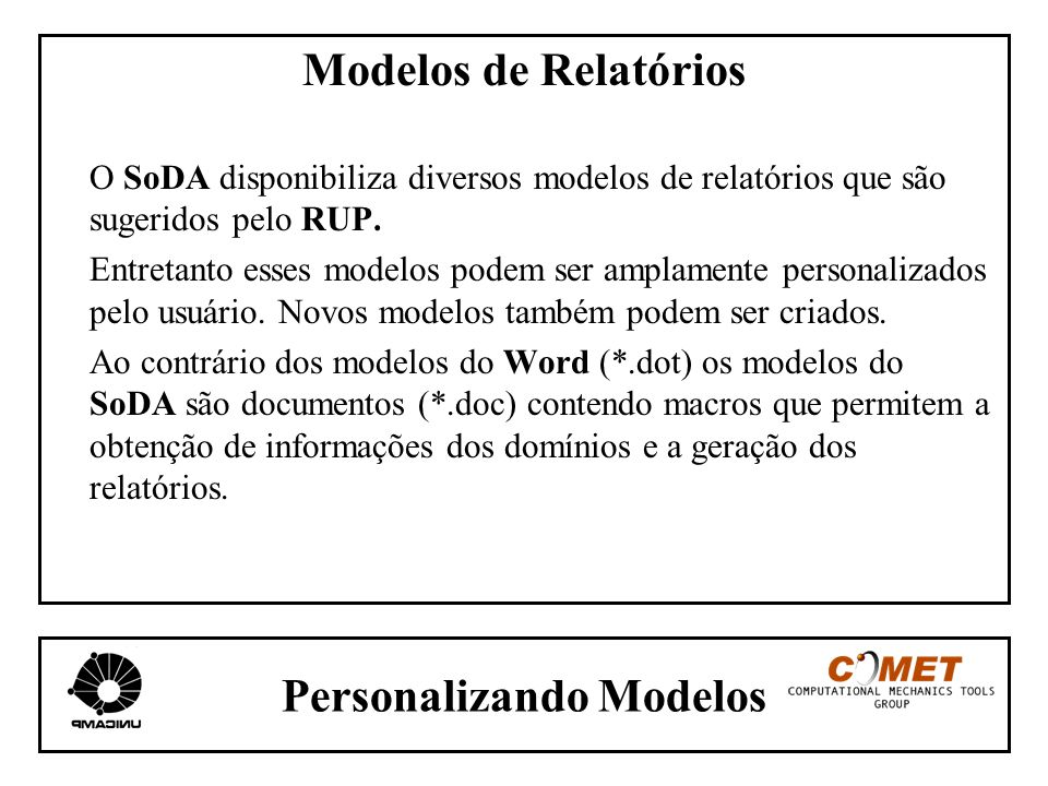 Personalizando Modelos