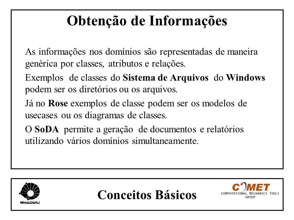 Obtenção de Informações