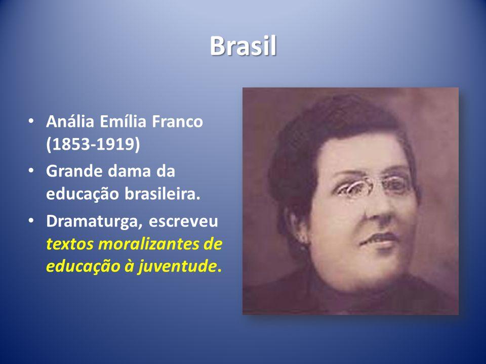 Brasil Anália Emília Franco (1853-1919)