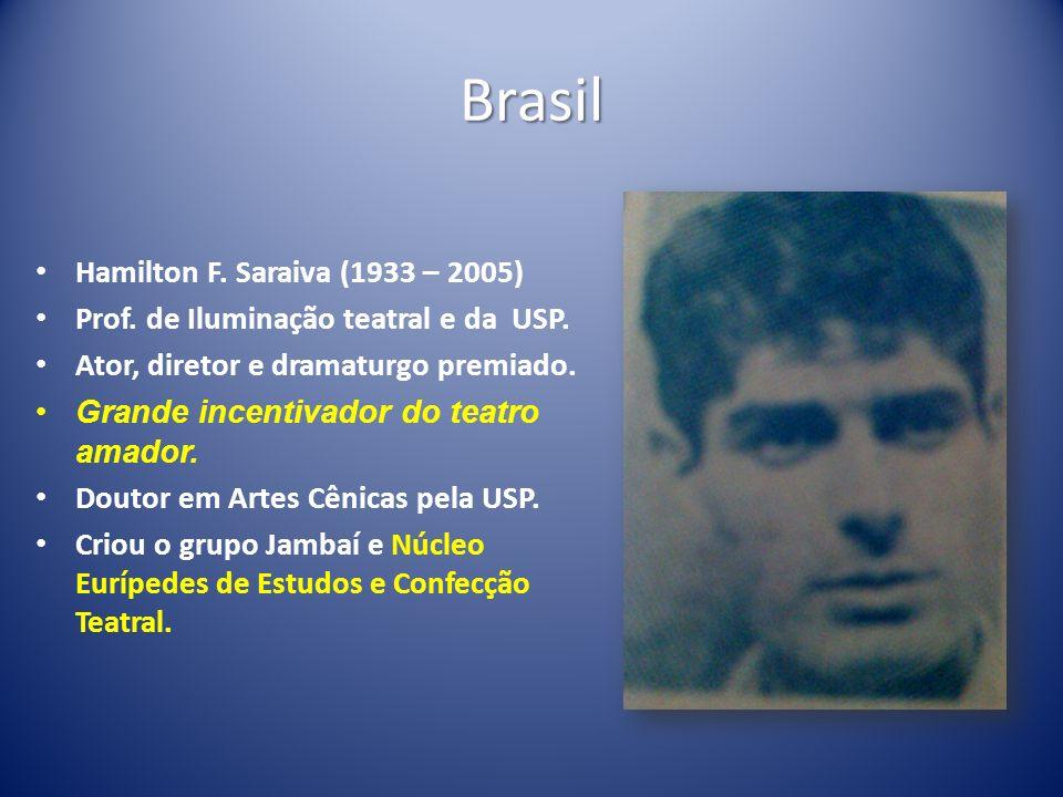 Brasil Hamilton F. Saraiva (1933 – 2005)