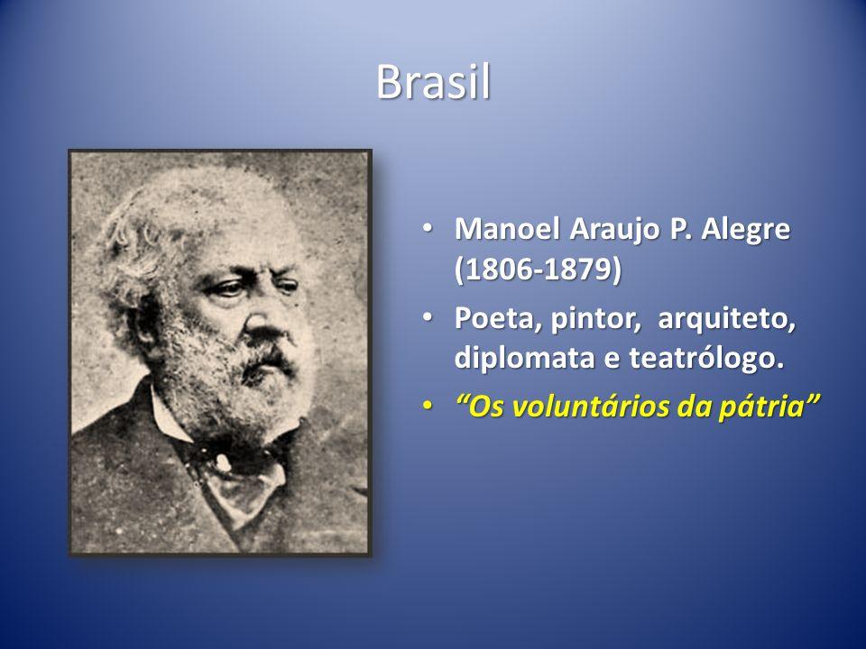 Brasil Manoel Araujo P. Alegre (1806-1879)