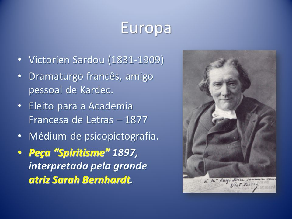 Europa Victorien Sardou (1831-1909)