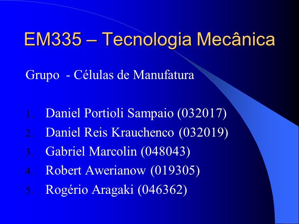 EM335 – Tecnologia Mecânica