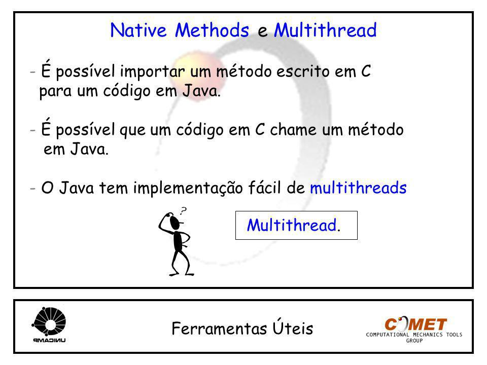 Native Methods e Multithread