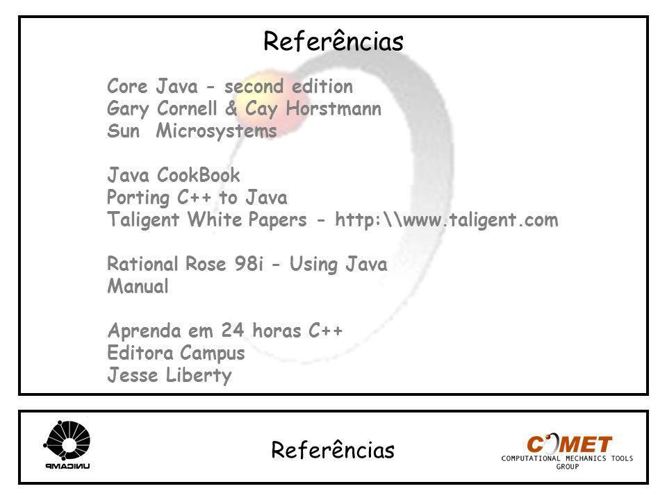 Referências Referências Core Java - second edition