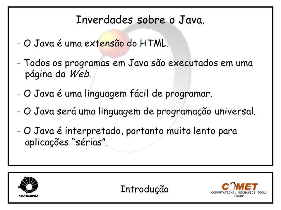 Inverdades sobre o Java.