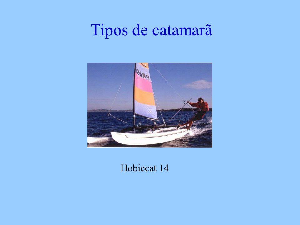 Tipos de catamarã Hobiecat 14