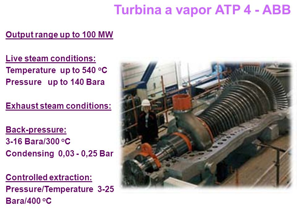 Turbina a vapor ATP 4 - ABB