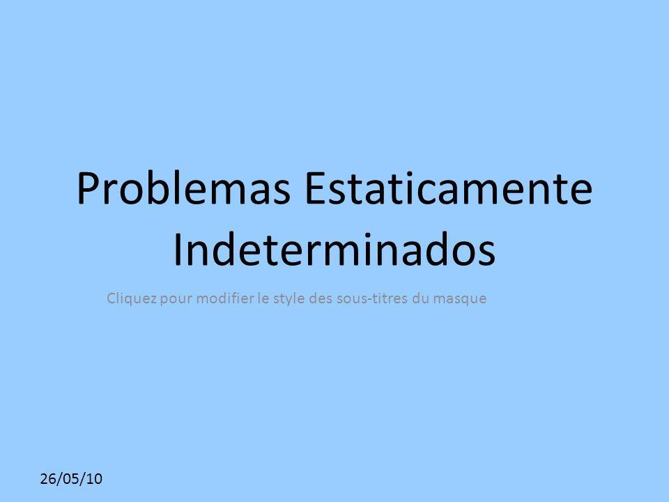 Problemas Estaticamente Indeterminados
