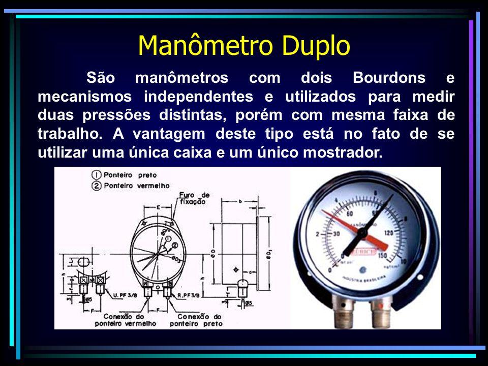 Manômetro Duplo