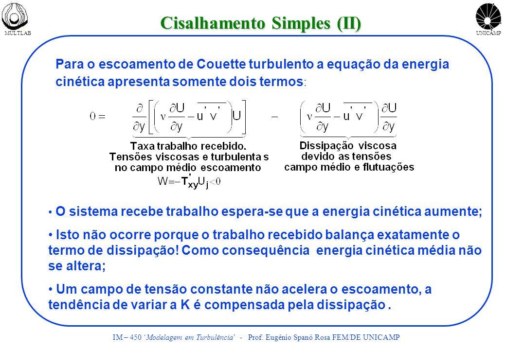 Cisalhamento Simples (II)