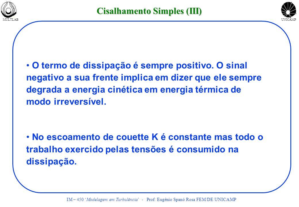 Cisalhamento Simples (III)