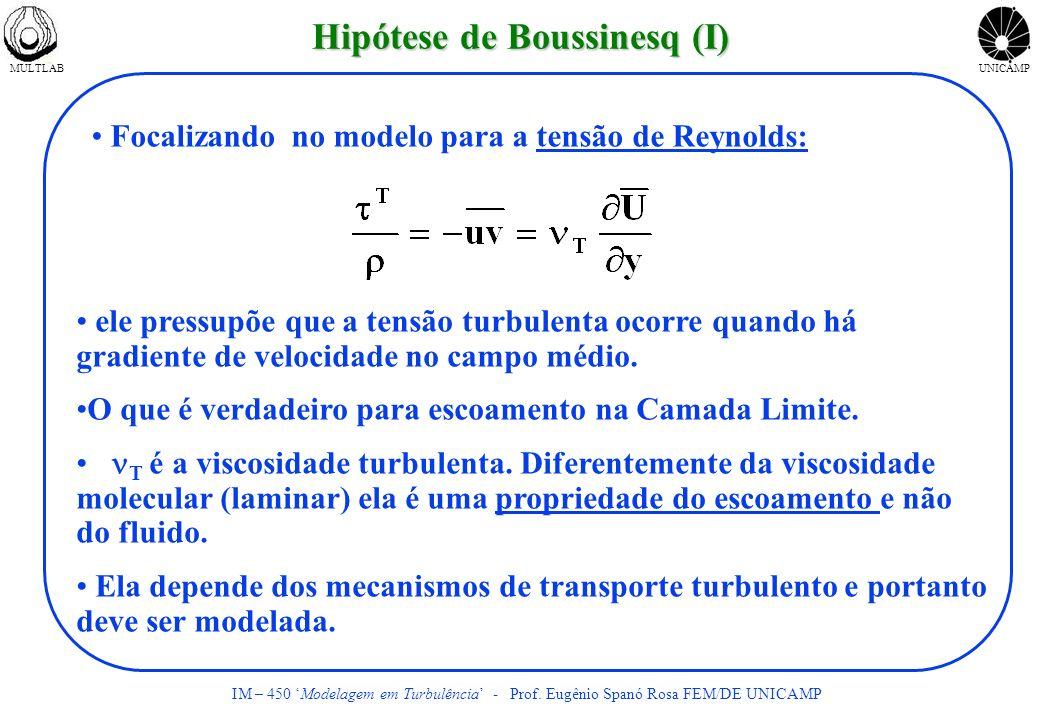 Hipótese de Boussinesq (I)