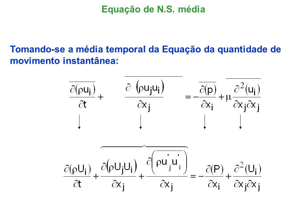 Equação de N.S.