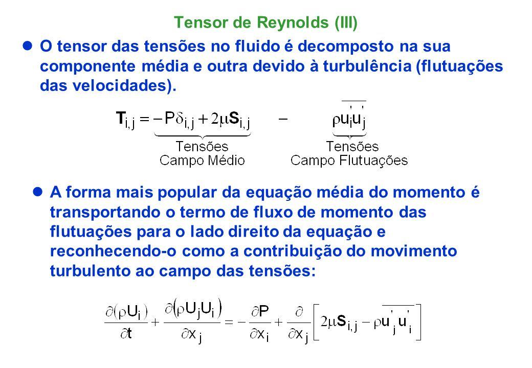 Tensor de Reynolds (III)