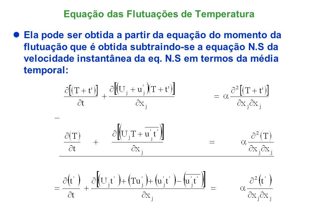 Equação das Flutuações de Temperatura