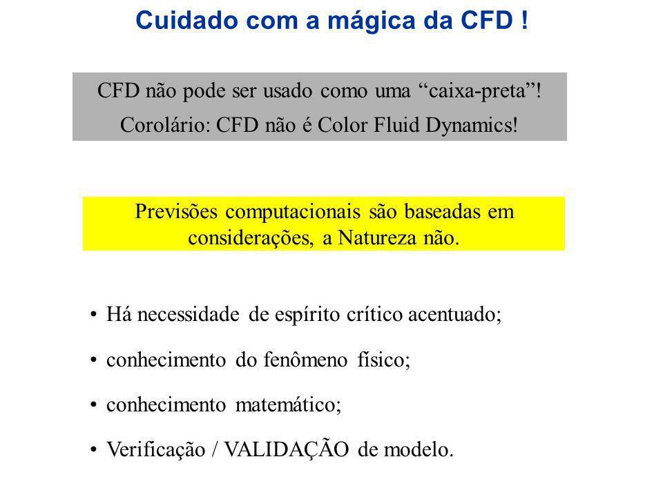 Cuidado com a mágica da CFD !