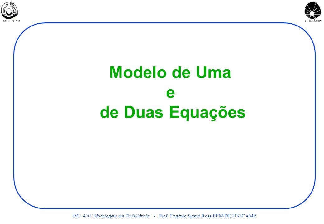 Modelo de Uma e de Duas Equações
