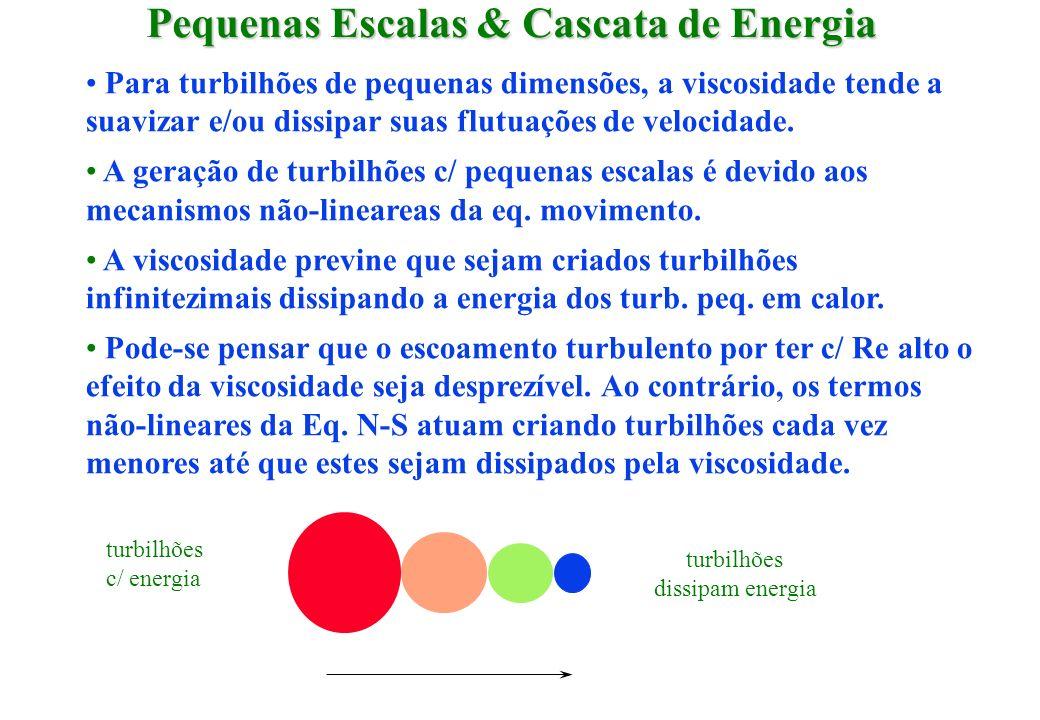 Pequenas Escalas & Cascata de Energia