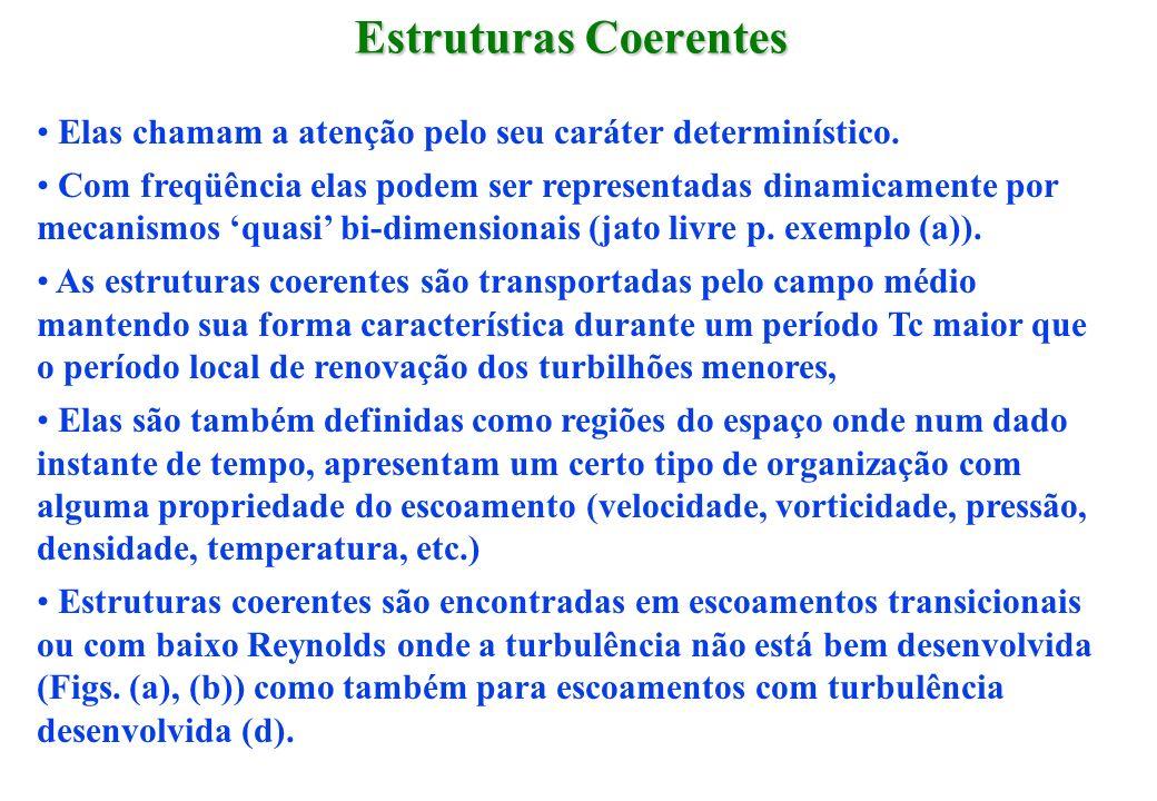 Estruturas CoerentesElas chamam a atenção pelo seu caráter determinístico.