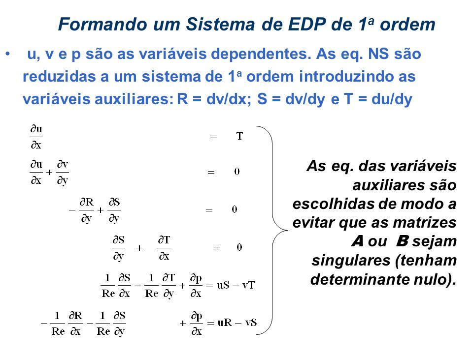 Formando um Sistema de EDP de 1a ordem