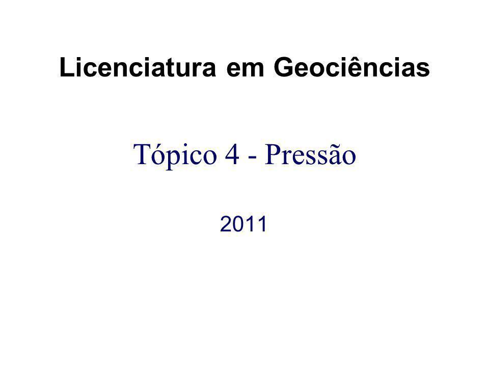 Licenciatura em Geociências