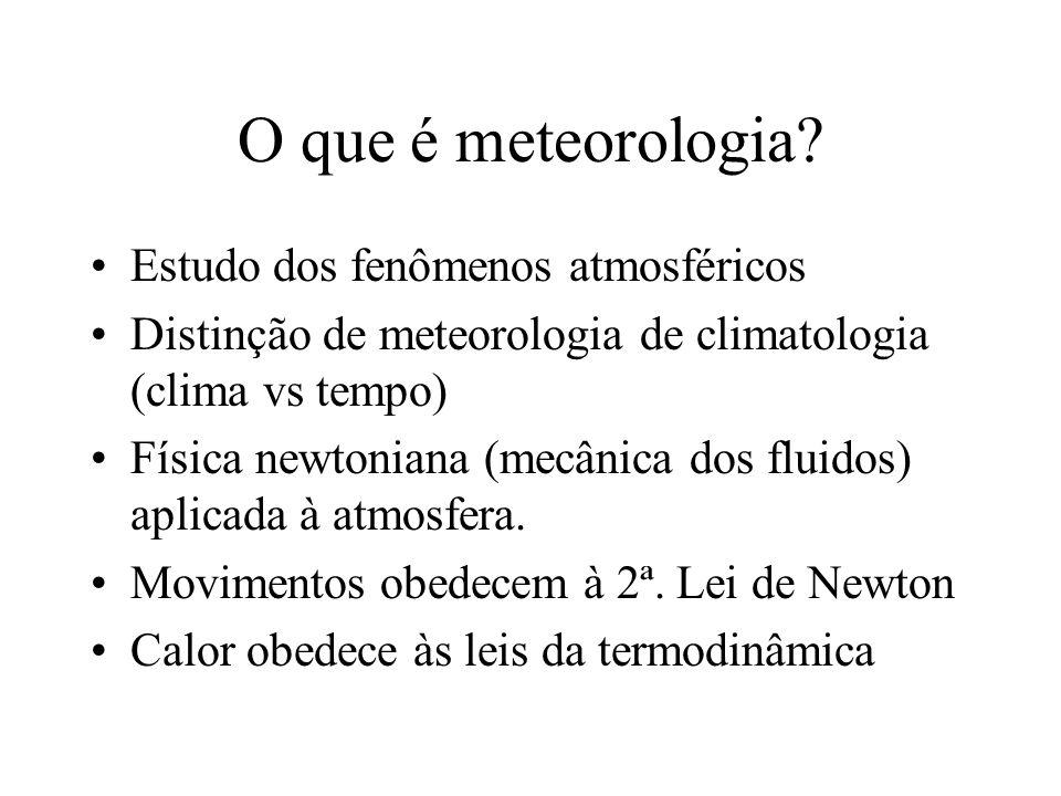 O que é meteorologia Estudo dos fenômenos atmosféricos