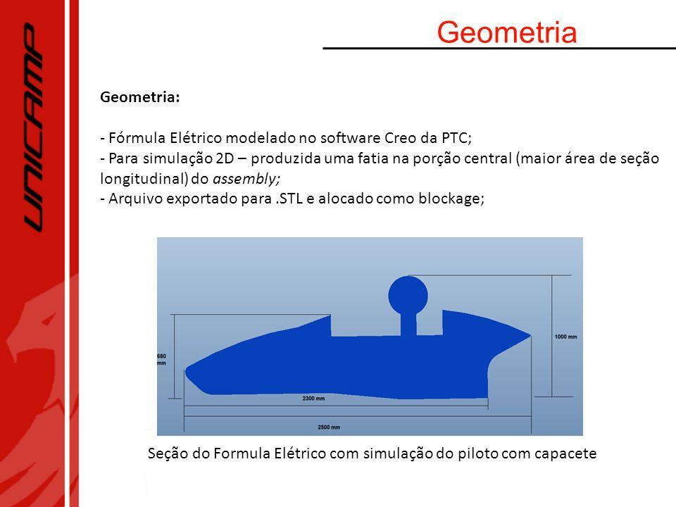 GeometriaGeometria: Fórmula Elétrico modelado no software Creo da PTC;