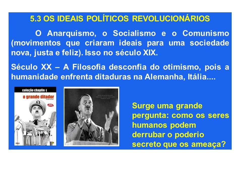 5.3 OS IDEAIS POLÍTICOS REVOLUCIONÁRIOS