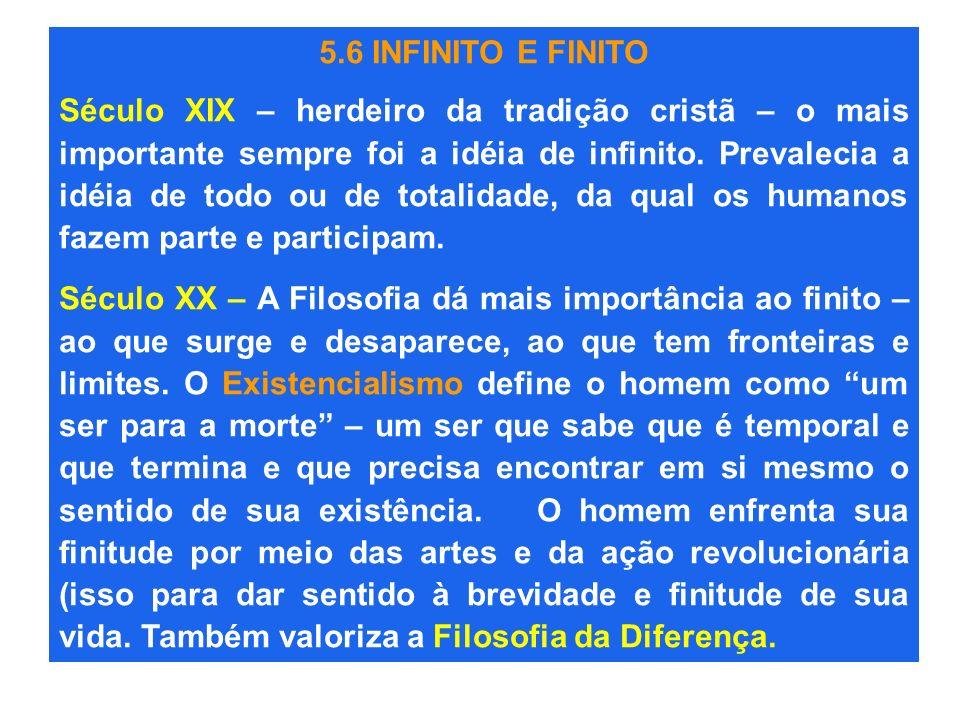 5.6 INFINITO E FINITO