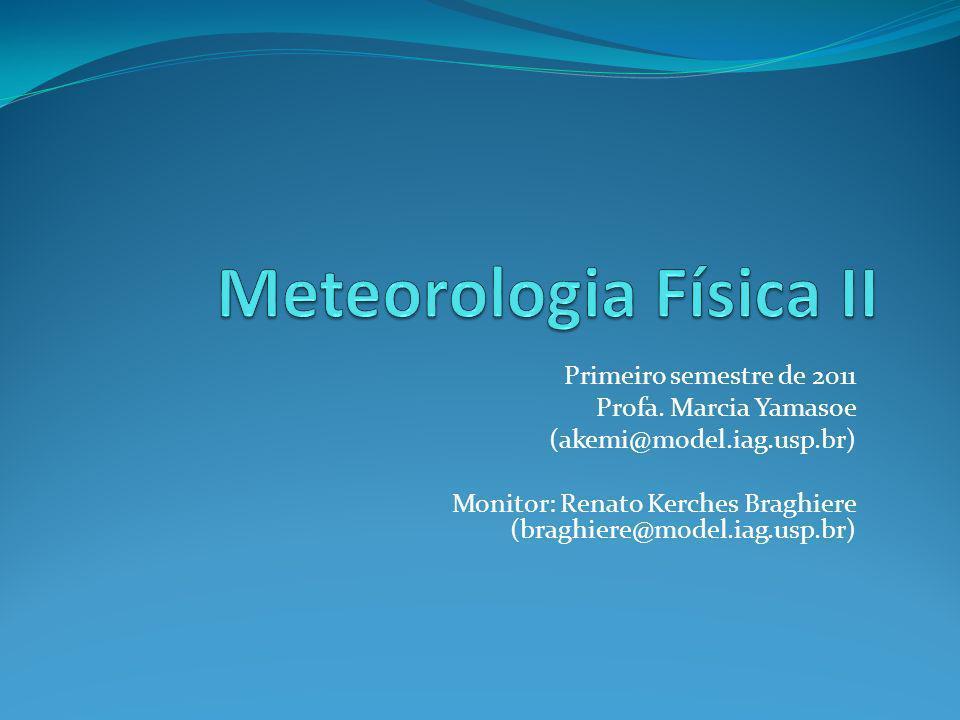 Meteorologia Física II