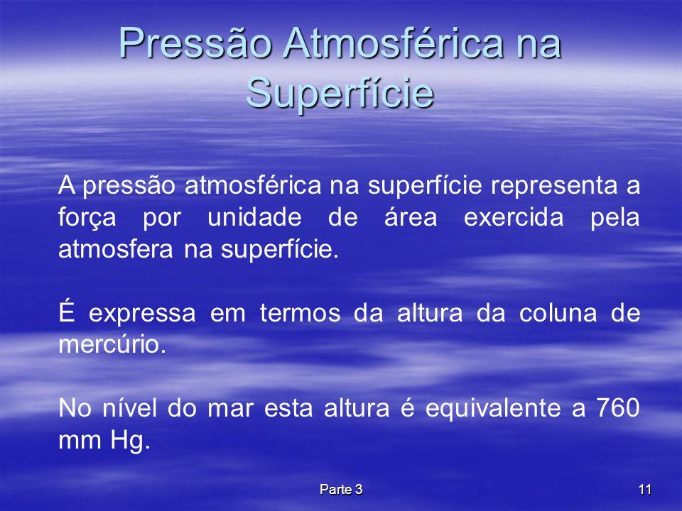 Pressão Atmosférica na Superfície