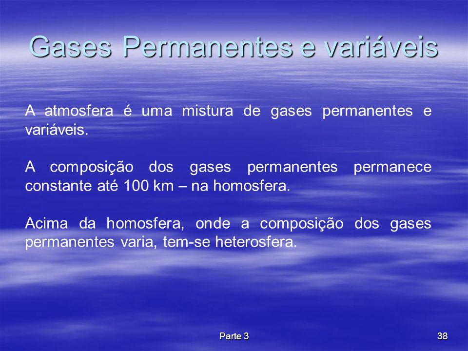 Gases Permanentes e variáveis