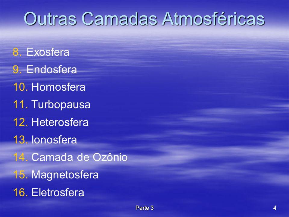 Outras Camadas Atmosféricas