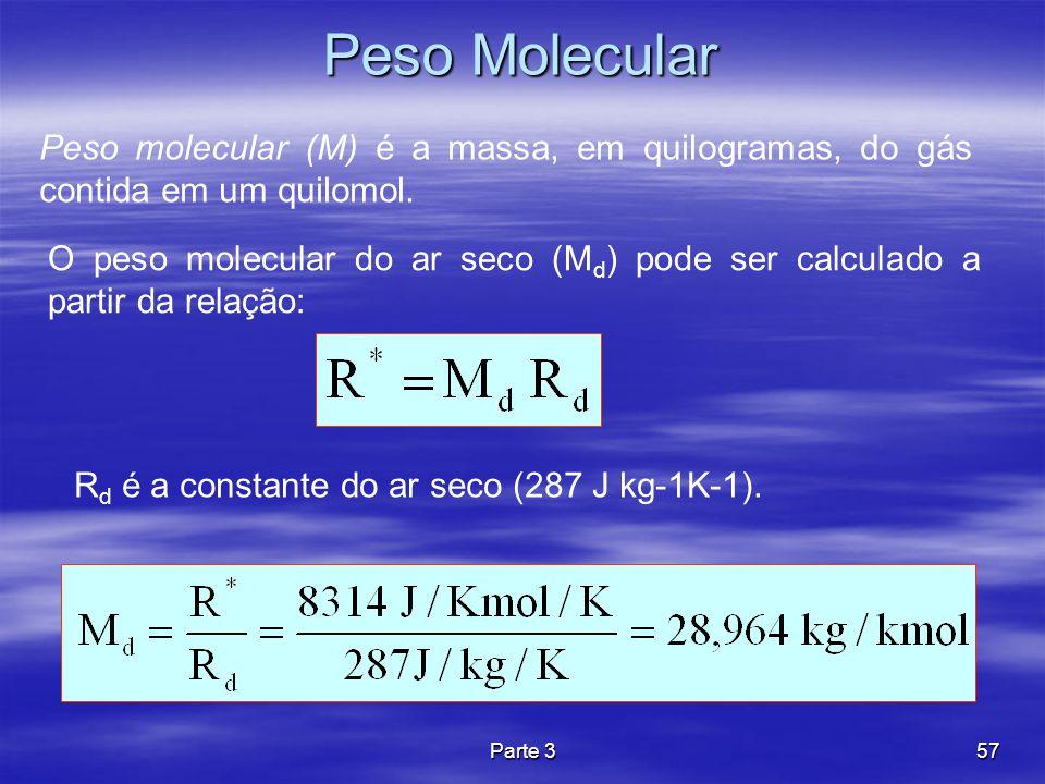 Rd é a constante do ar seco (287 J kg-1K-1).