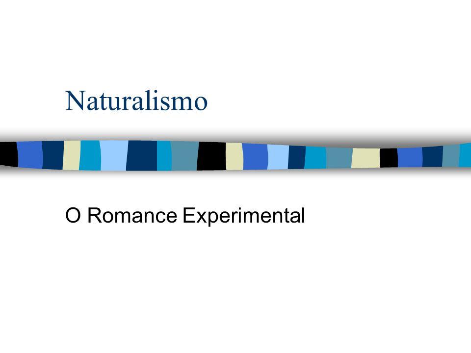 O Romance Experimental