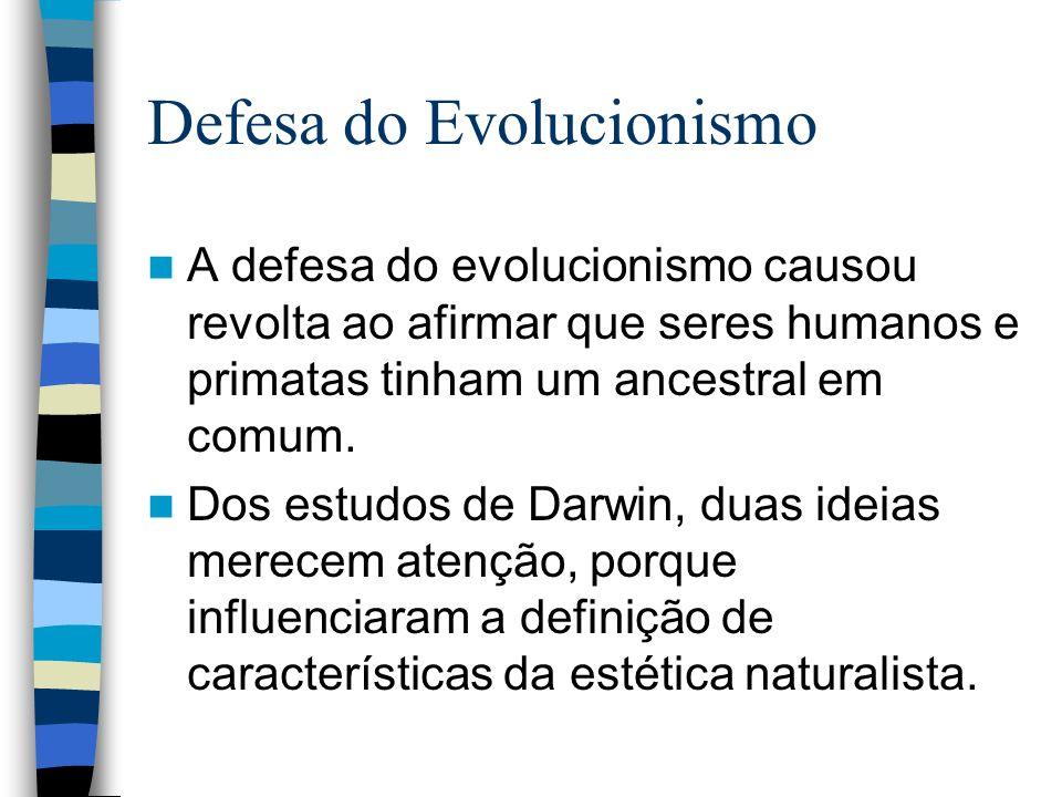 Defesa do Evolucionismo