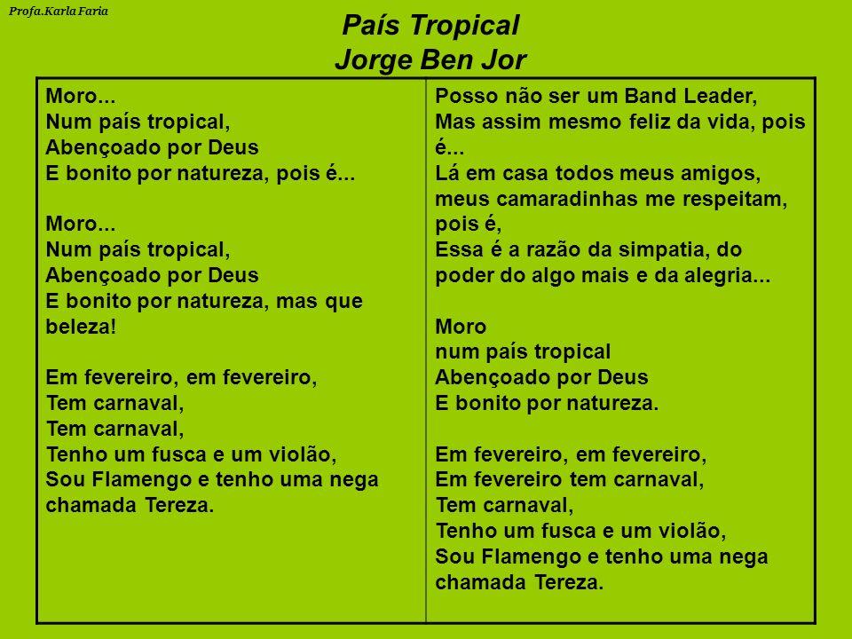 País Tropical Jorge Ben Jor