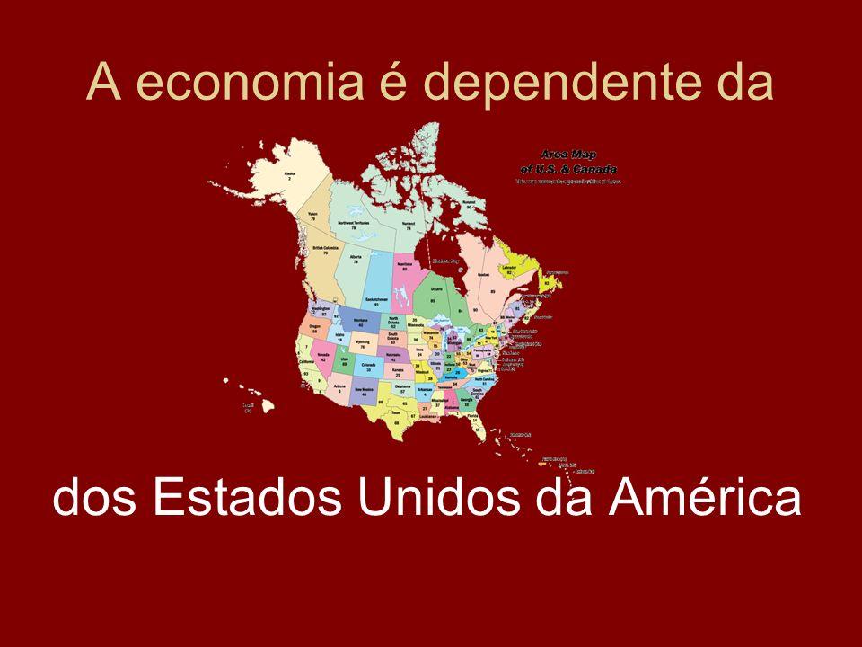 A economia é dependente da
