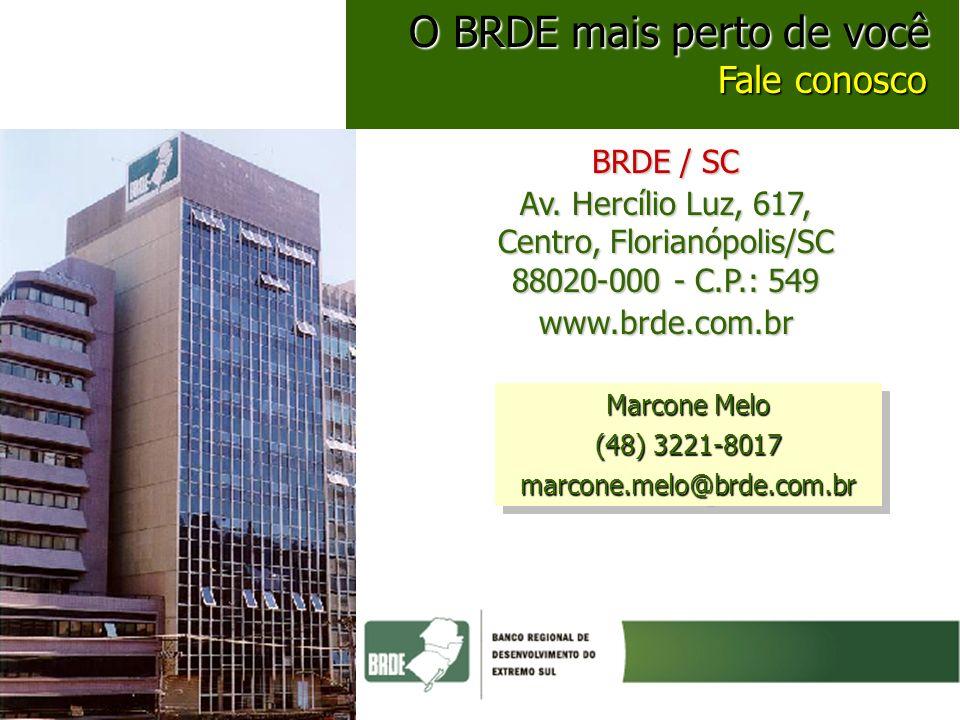 Av. Hercílio Luz, 617, Centro, Florianópolis/SC 88020-000 - C.P.: 549