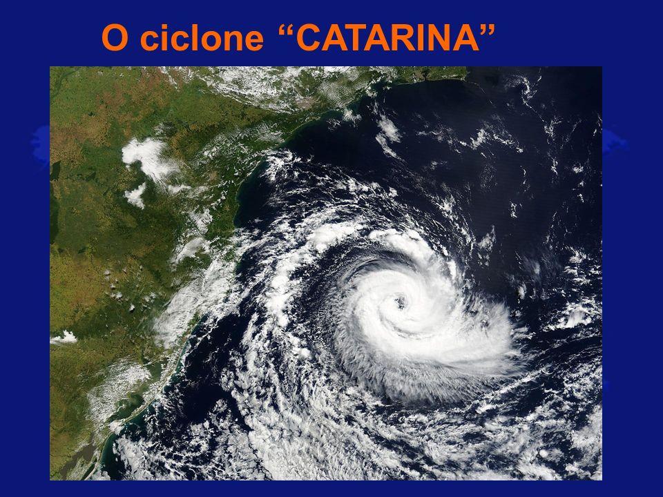 O ciclone CATARINA