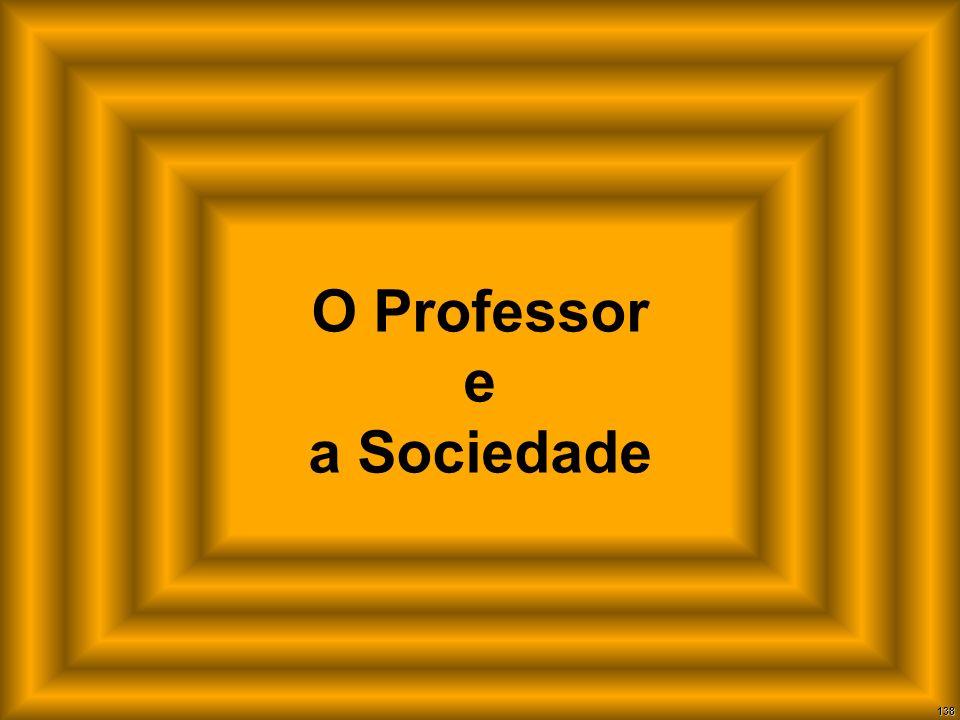 O Professor e a Sociedade