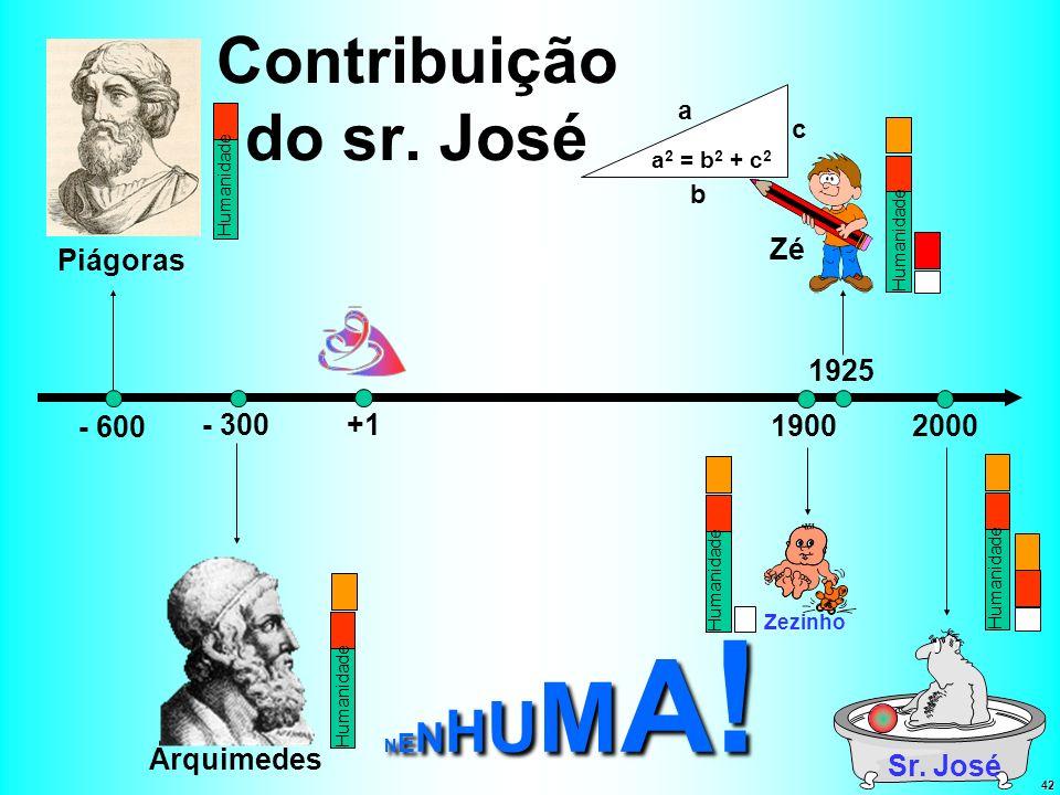 Contribuição do sr. José