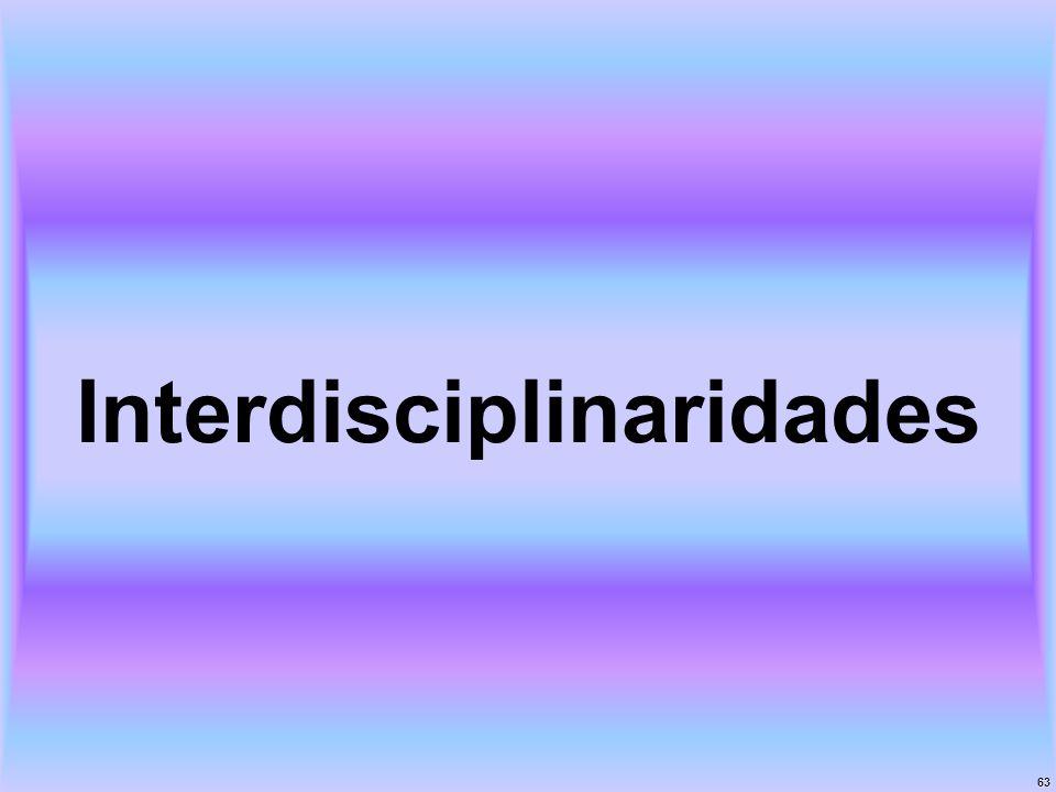 Interdisciplinaridades