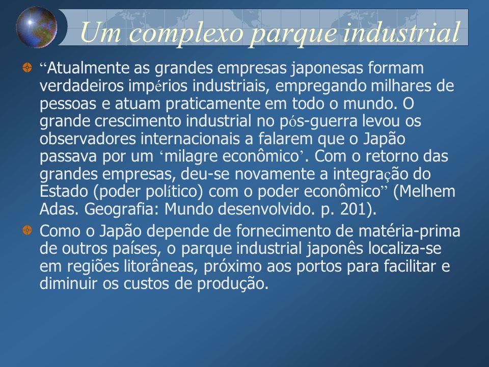 Um complexo parque industrial