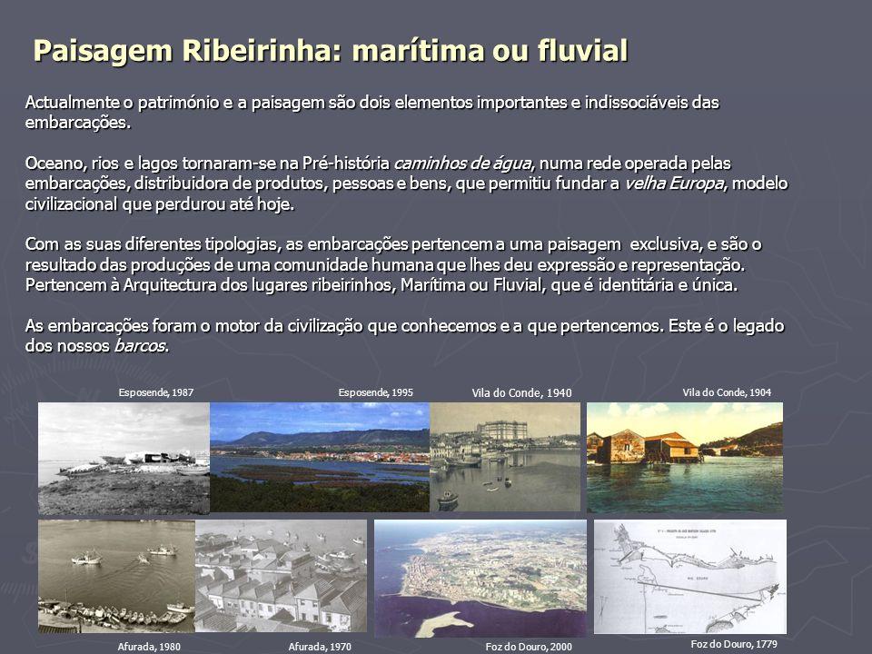 Paisagem Ribeirinha: marítima ou fluvial